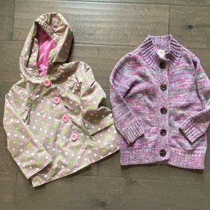 3T Girl Jacket Bundle Hawke & Co Old Navy